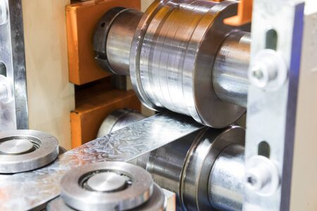 stainless bar sheet in cold roll process ; focus as machined cast roll