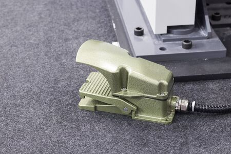 Foot Switch for start  Stop machine operation. ; forging , pressing machine