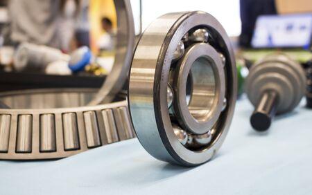 Close up of a industrial ball bearing Reklamní fotografie