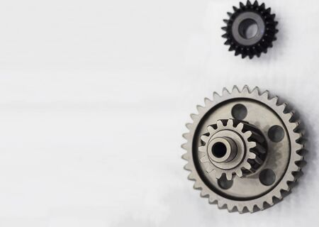 Gear Parts  manufacturing but hobbing process ; cutting and heat treatment