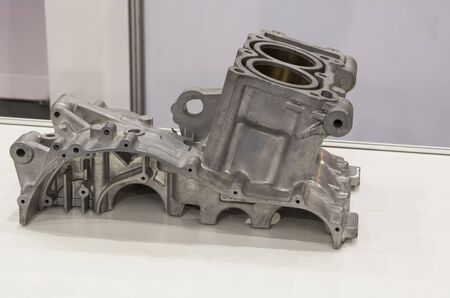 Aluminium die casting products made from high pressure injection machine