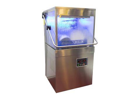 gloass / Bowl / Dish washer machine ; isolated white