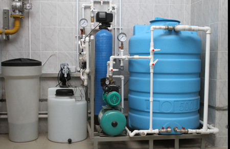 equipment of chemical processing of water for independent boiler-house