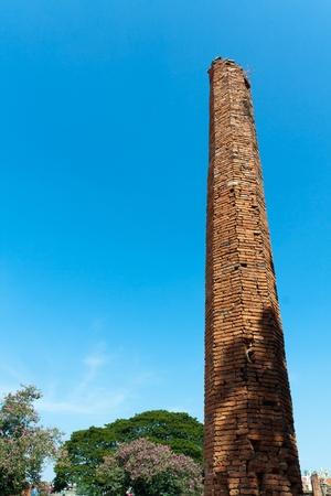 ayuthaya: old pagoda at Ayuthaya, Thailand Stock Photo