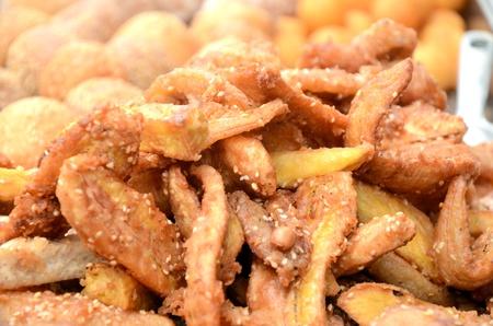 platanos fritos: Los pl�tanos fritos
