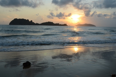 tourist attractions: Beach is the tourist attractions of Chumphon province, Thailand