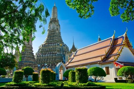 Wat Arun, Bangkok, Thailand Фото со стока