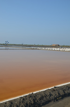 Pattaya Thai wisdom of salt production Stock Photo - 13280070