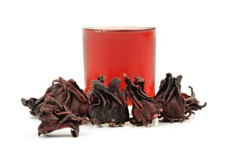 flor: Jamaican Sorel, Roselle,  Hibiscus sabdariffa L