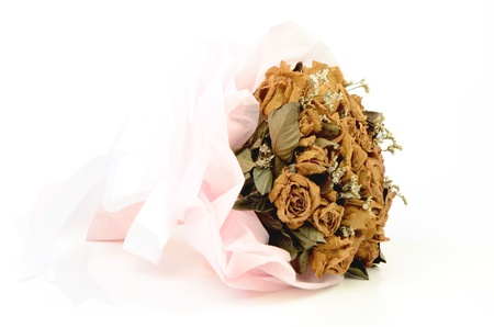 Dried roses Stock Photo - 14889217