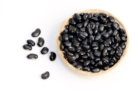 Black Eyed Peas on a white background  photo