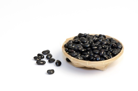 Black Eyed Peas on a white background  photo
