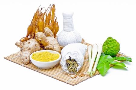 Thai herbal compress  Фото со стока