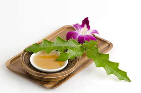 irritate: Scrub with Sea holly and honey to moisturize the skin and does not irritate the skin. Stock Photo