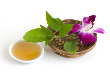 reenacting: Scrub it with Rhinacanthus nasutus and honey to moisturize the skin and does not irritate the skin.