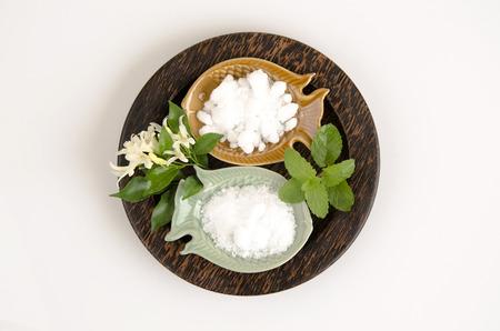 inhaled: Natural medicine for inhalation (mint, borneol and camphor).