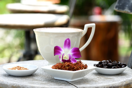 reduces: Safflower and sugar mix coffee beverages, as safflower reduce blood cholesterol.