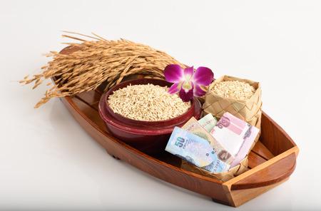 volatility: Las exportaciones de arroz de Tailandia. Foto de archivo