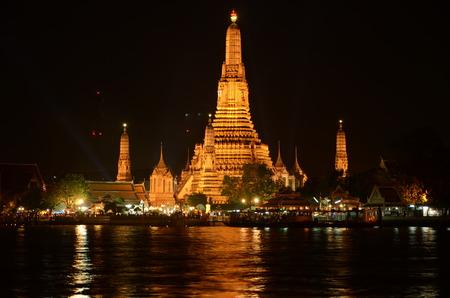 phraya: Wat Arun Bangkok, Thailand.