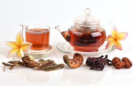 colon cleansing: Drink herbal colon cleansing and fat accumulation.