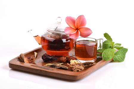 Drink herbal colon cleansing and fat accumulation.