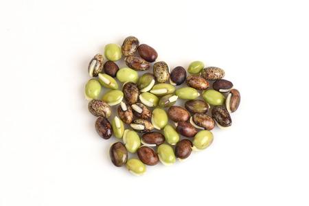 lablab bean or Dolichos bean Dolichos lablab Linn.. Stock Photo