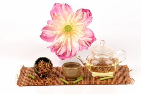 Gaysorn lotus tea have properties medicaine. Фото со стока