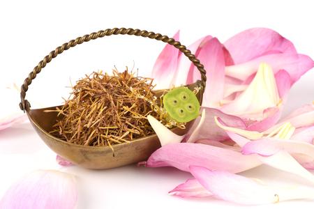 Pollen lotus has medicinal properties.