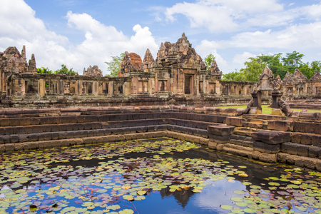 Prasat Hin Muang Tam, Buriram, Thailand Фото со стока - 78582737