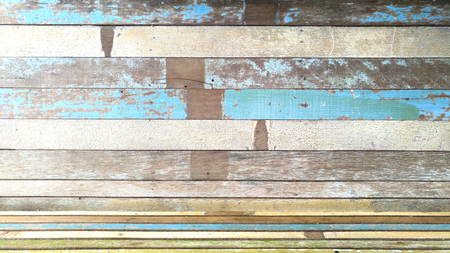 Old painted wooden background and texture.