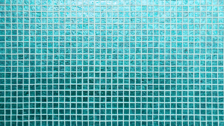 Blue tiles pattern square texture Stock Photo