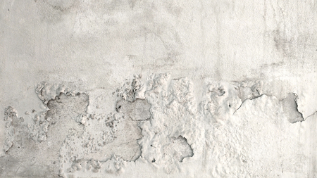 Grunge concrete cement wall with crack for texture background.