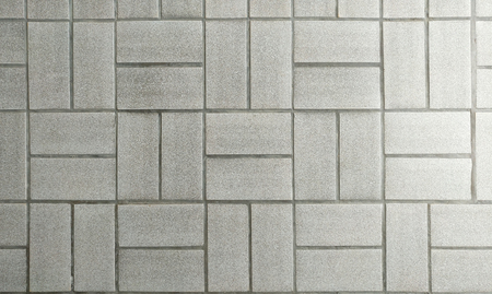 Gray tiles pattern texture background. Stock Photo