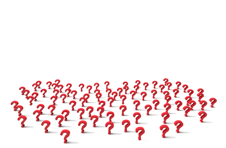 Group of question mark icon isolated on white background.Illustration.