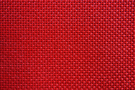 Red nylon fabric pattern texture background. Stock Photo