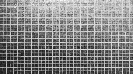 Silver tiles pattern square texture Stock Photo