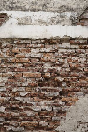 The Old and crack brick wall texture background. Zdjęcie Seryjne