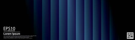 Abstract vector geometric colorful pattern background. Dark blue / Poster, banner template. 向量圖像