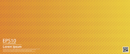 Abstract vector geometric colorful pattern background. Orange  Poster, banner template. Ilustracja