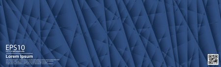 The abstract  gradient  blue color pattern background.