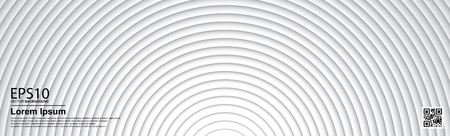 The abstract gradient gray color circle background.