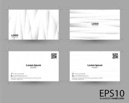 sfondo del modello di biglietto da visita di colore grigio sfumato astratto.