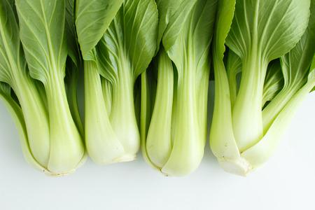 nontoxic: close up of nontoxic Chinese mustard green