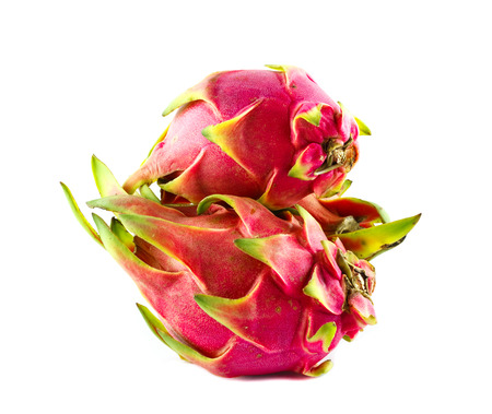 nontoxic: nontoxic dragon fruit on white