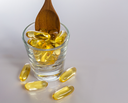 primrose oil: Evening primrose oil capsule,supplementary food.
