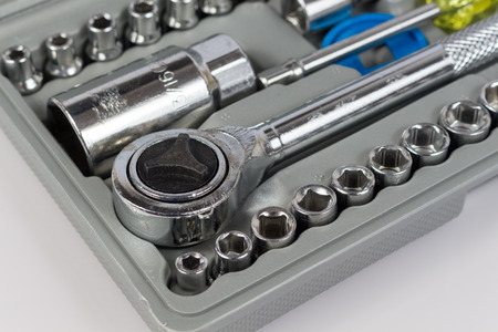 socket wrench: combination socket wrench set for engineer