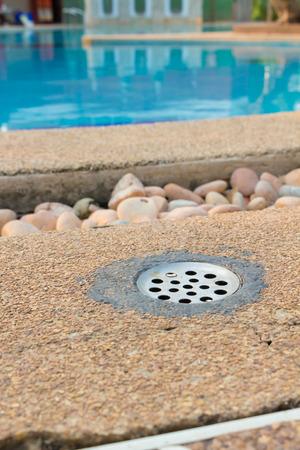 drain: Drain of a pool