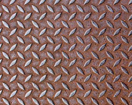 texture of a iron plate