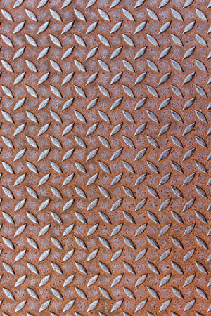industrial sheet iron: texture of a iron plate