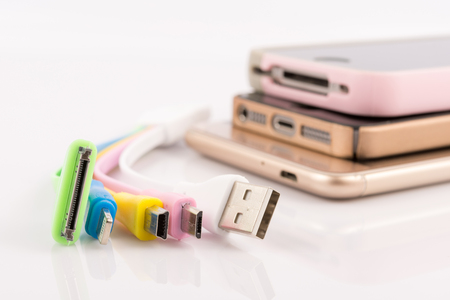 USB cable for charging mobile